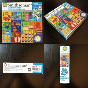 🆕 SMITHSONIAN puzzle x kids